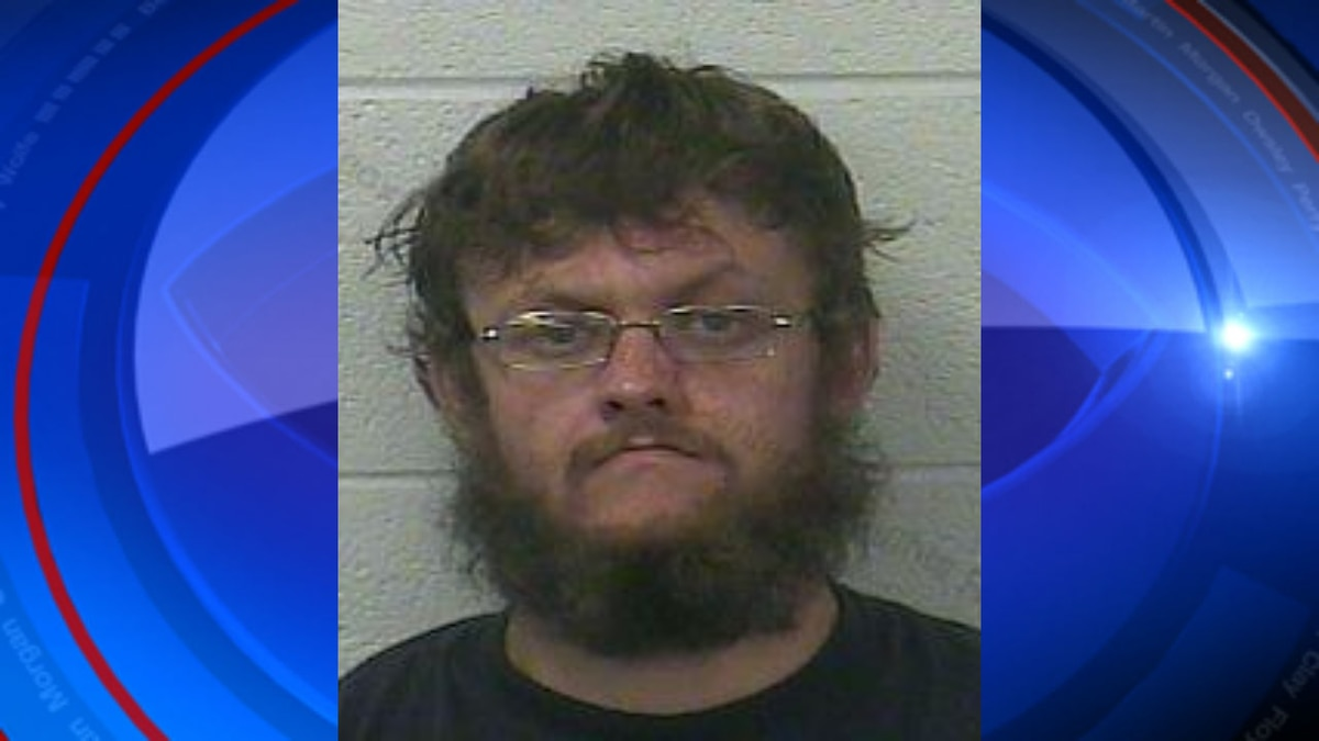 Kentucky State Police arrested Harry Day Sunday, August 16, 2020 in Corbin.