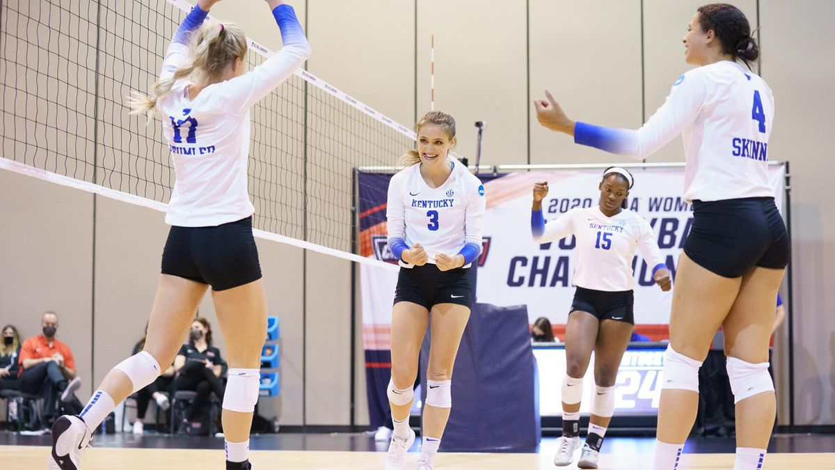 The Wildcats defeated the Boilermakers in straight-sets (25-23, 25-20, 25-16).