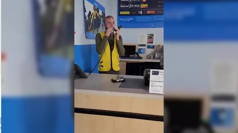 Customers at the Lawrenceburg Walmart were recently treated to something, a little bit...