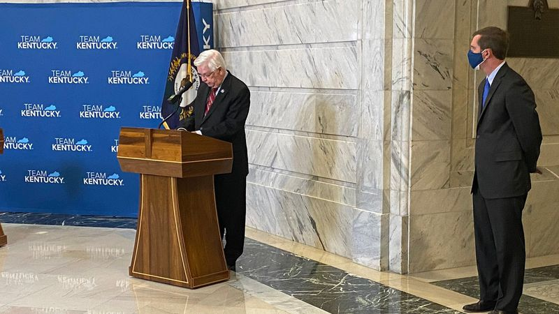 Governor Andy Beshear and Congressman Hal Rogers made the announcement Monday.