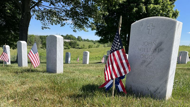 Thousands visited friends and loved ones at Camp Nelson National Cemetery on Memorial Day.