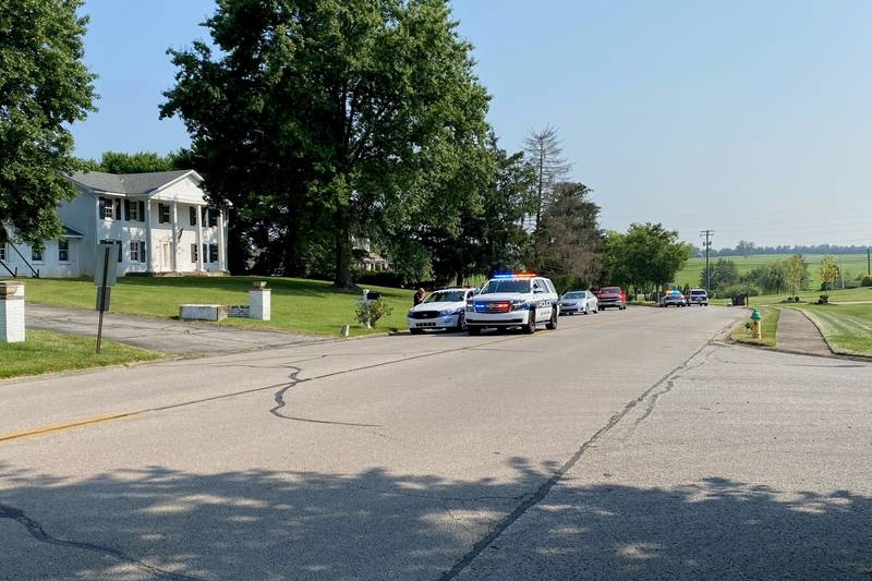 The suspect ditched the truck on Bahama Road, in the Greenbrier neighborhood, and ran off. ...