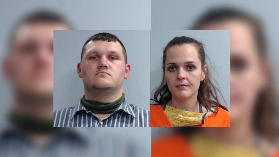 Bruce Mitchell and Ashley Anderson are the two people charged in the case.