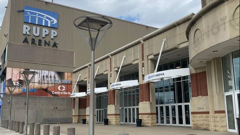 Event organizers are preparing for the first concert at Rupp Arena in ten months. (WKYT)