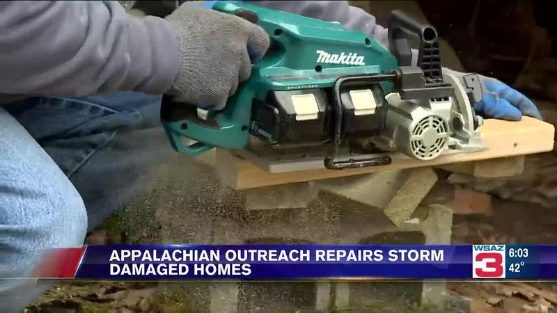 Appalachia Reach Out repairs storm-damaged homes.