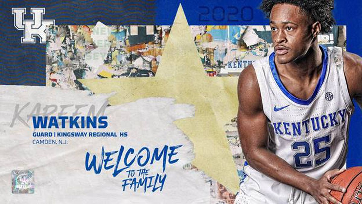 UK Basketball adds Kareem Watkins to roster