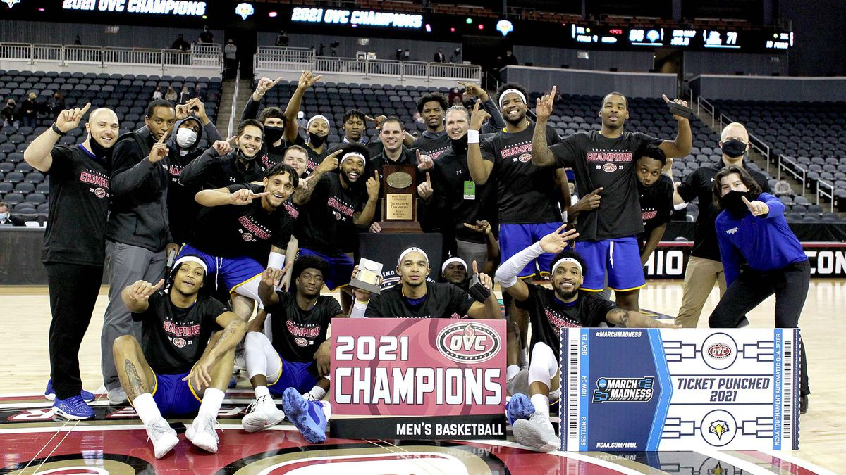 Morehead State wins the OVC title.