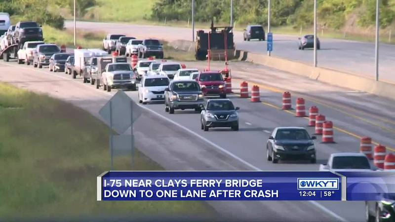 'A matter of patience': Clays Ferry Bridge still down to one lane, I-75 backed up after crash