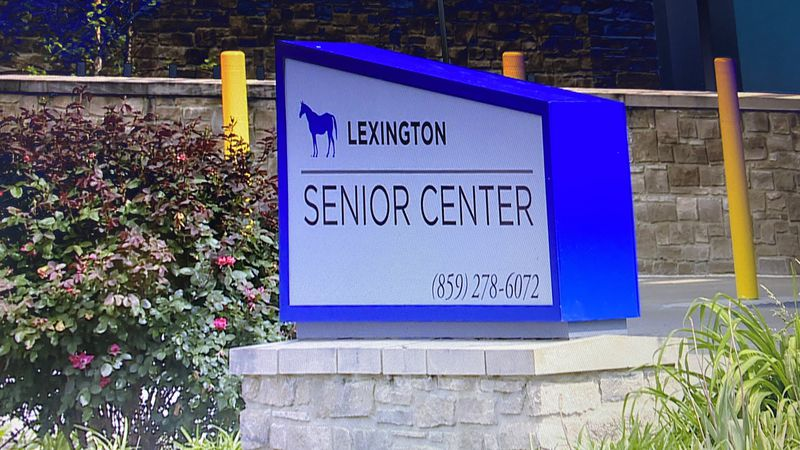 COVID-19 has shut down activities at the Lexington Senior Center for two months. (WKYT)