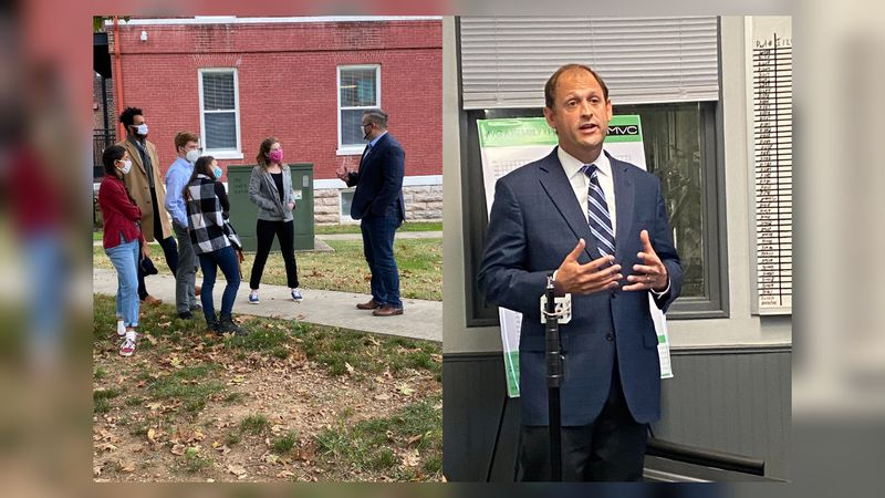 Republican Congressman Andy Barr and Democratic challenger Josh Hicks are making stops around...
