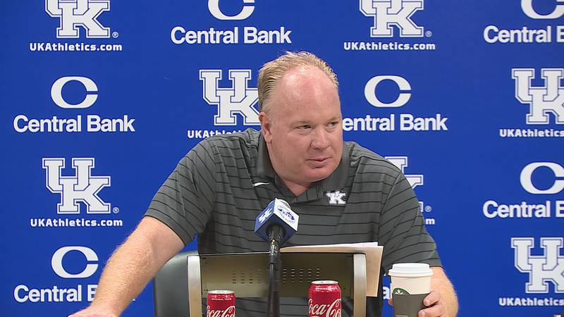 Mark Stoops' weekly press conference.
