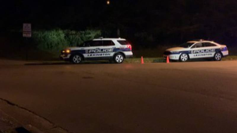 Police investigate a shooting on Alumni Drive that was tied to armed robbery earlier in the...