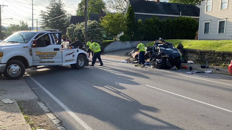 Fatal crash on West High Street in Lexington