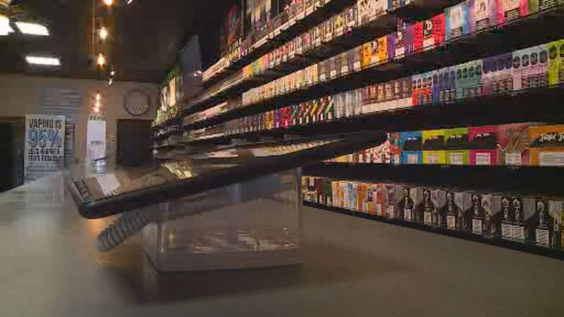 Taxes on vaping products brought 40% more funds into the state in 2020 than compared with 2019.