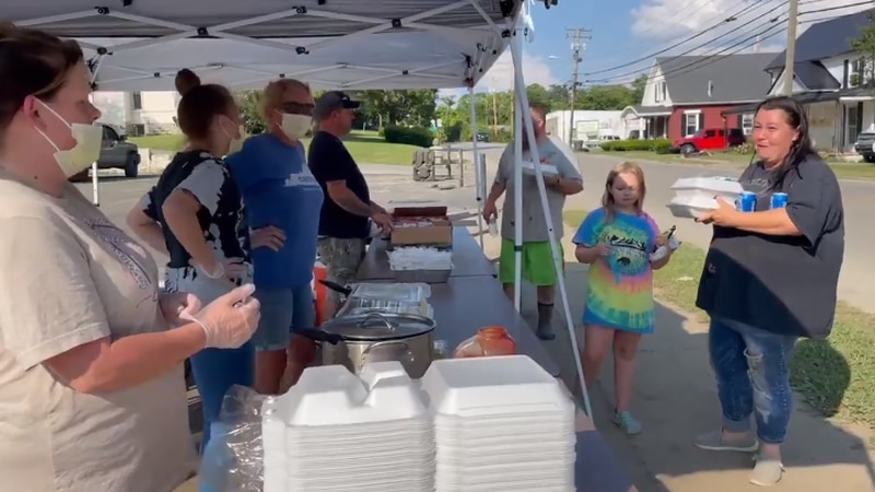 While people on Main Street work to repair the damage to their homes, the Craig family makes...