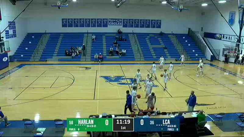 Harlan Green Dragons vs LCA Eagles 2/25/21 - VOD