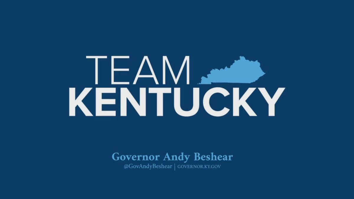 Governor Andy Beshear gives an update on the COVID-19 situation in Kentucky.