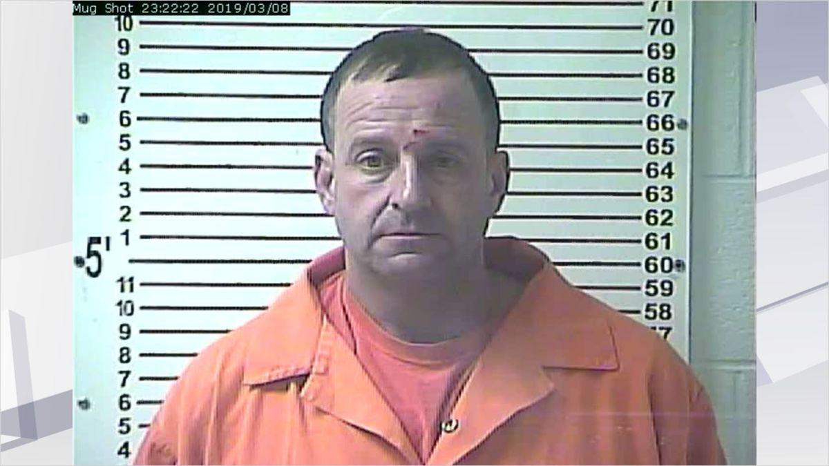 Mug shot of Breckinridge County Sheriff Todd Pate
