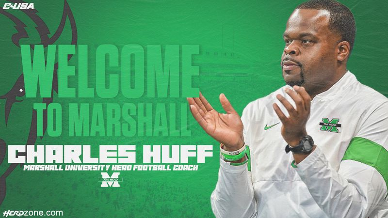 Marshall hires Alabama assistant Huff as football coach.