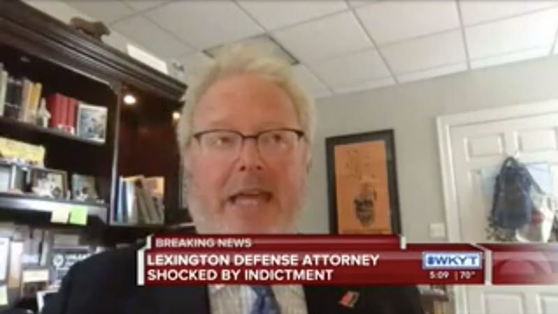 Lexington attorney Scott White is shocked by the indictment in the Breonna Taylor case.