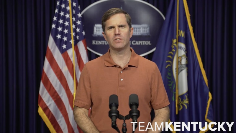 """Governor Andy Beshear said the """"virus is real and can impact anyone."""" (File image)"""