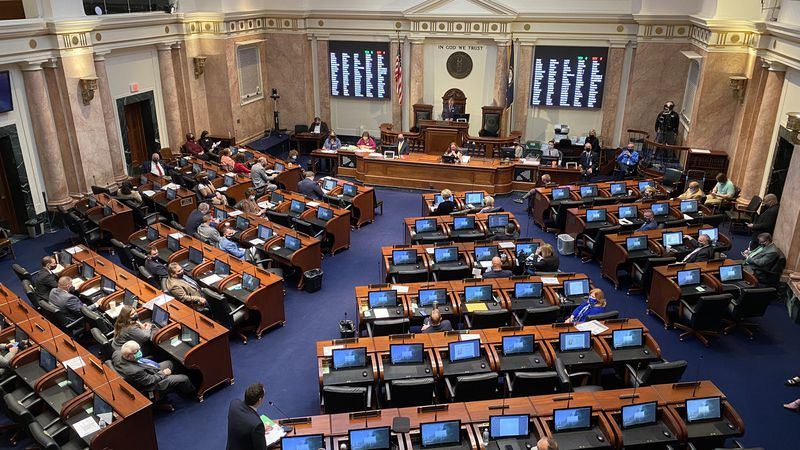 Kentucky lawmakers are meeting Wednesday for the last day of the first part of this year's...