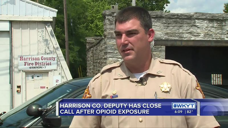 Harrison County sheriff's deputy becomes sick after being exposed to carfentanil while working
