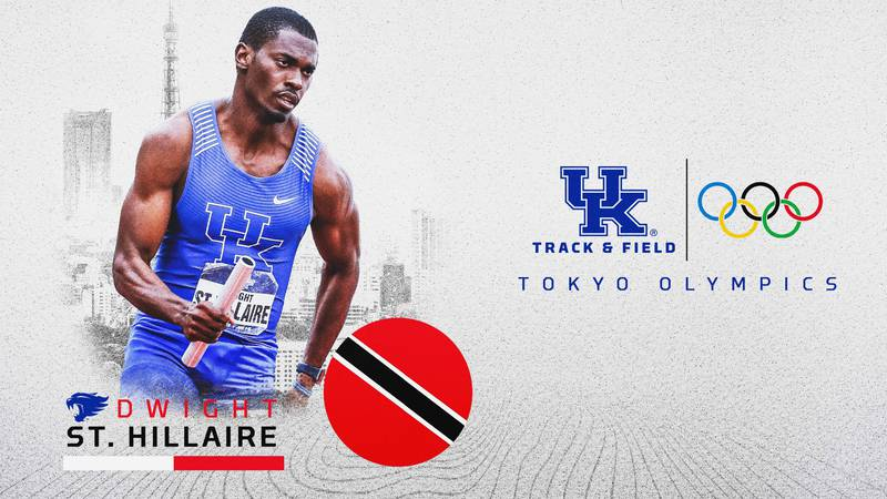 Dwight St. Hillaire will run for Trinidad and Tobago.