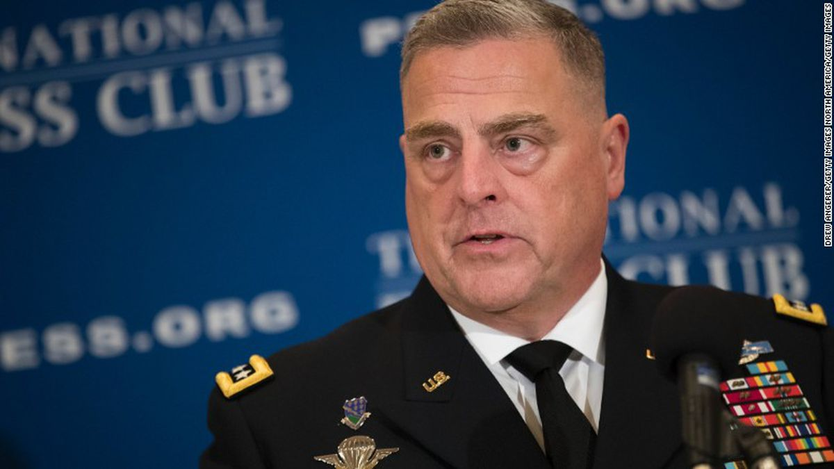 Trump picks Gen. Mark Milley as next top military adviser