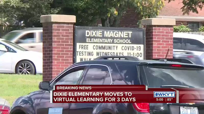 The district says several students tested positive last week more than a hundred were put in...