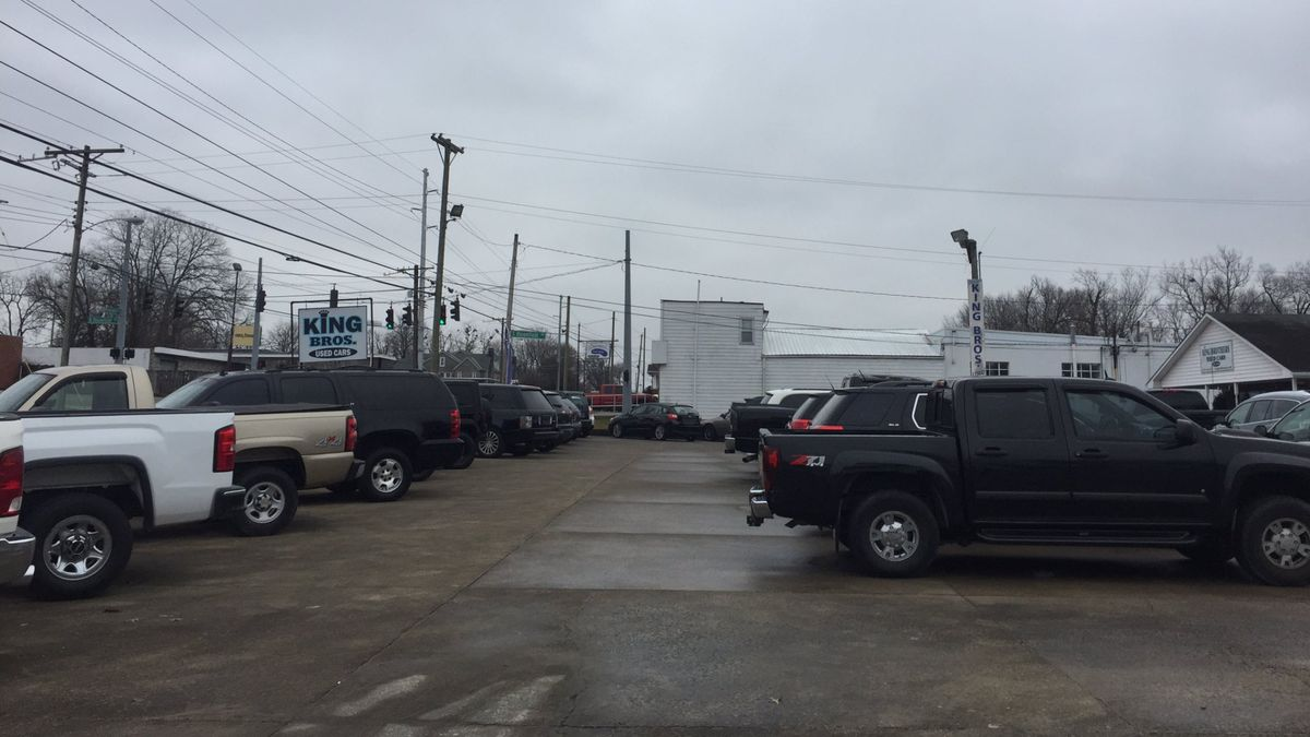 Two cars were stolen from King Brothers Used Cars over the weekend (WKYT)