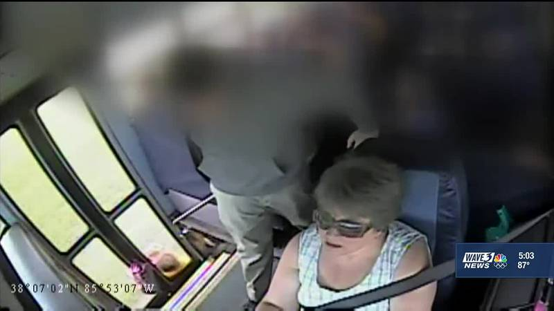 The bus driver who dragged a student whose backpack got stuck in the door couldn't see a...
