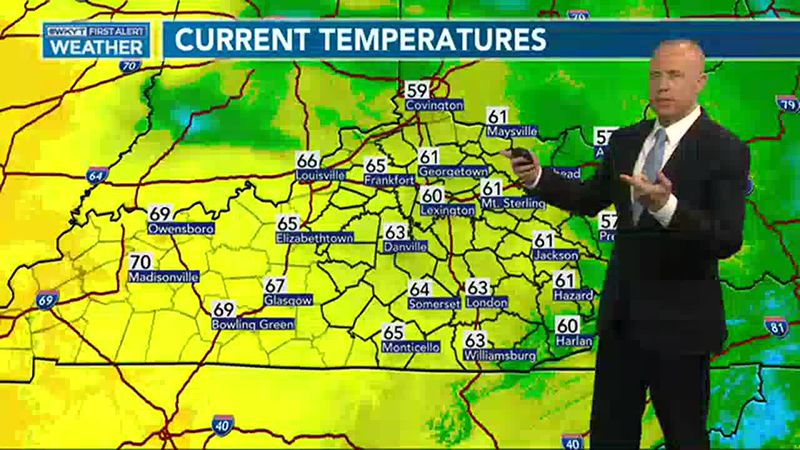 Chris Bailey's Forecast | A Cold Front Arrives Tonight