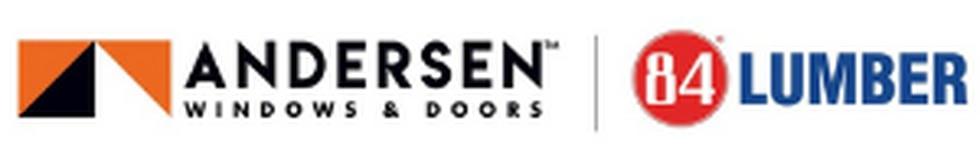 Andersen Windows and 84 Lumber Logos