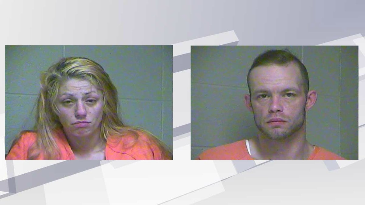Crystal Cramer and Christopher Smith (Photos: Woodford County Detention Center)