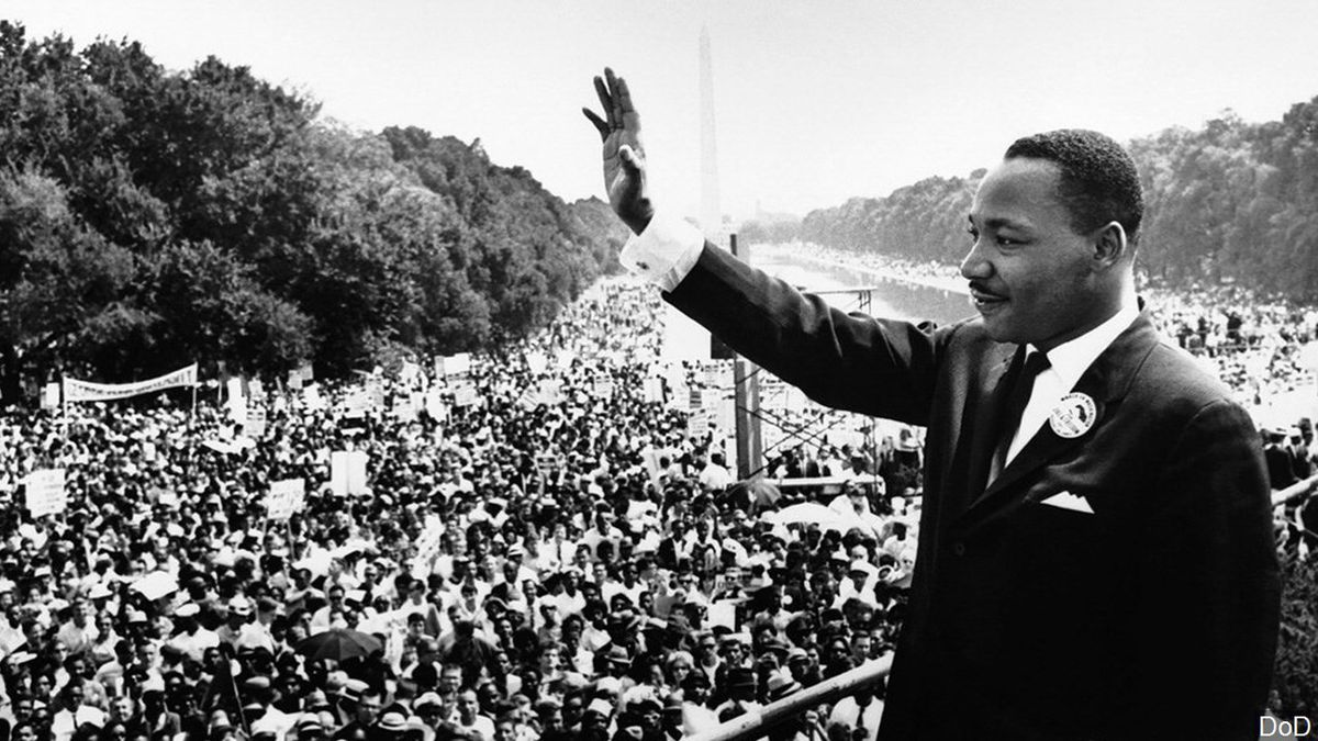 Martin Luther King Jr., Photo Date: August 28, 1963