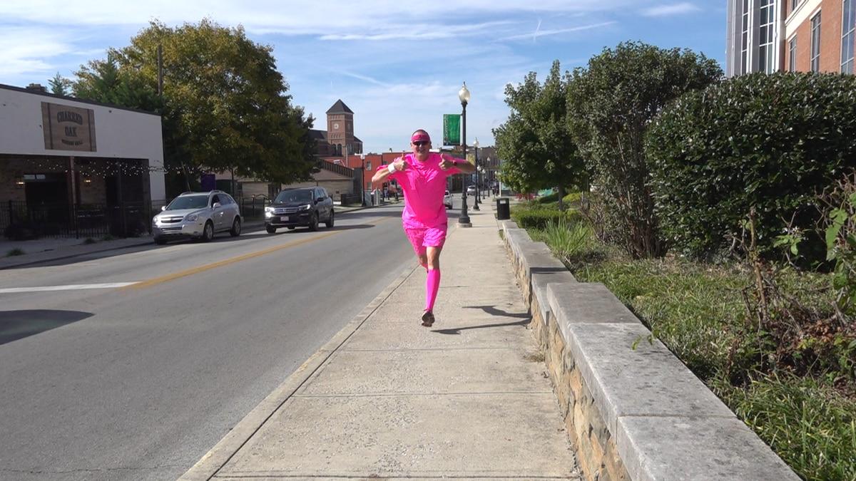 Duffy Sutton runs a 5K in all 120 Kentucky counties
