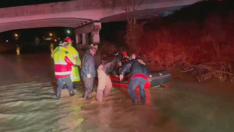 Water rescue in Laurel County