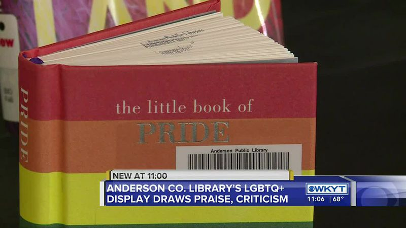 In honor of Pride Month, a local public library put several of its LGBTQ+ books and resources...