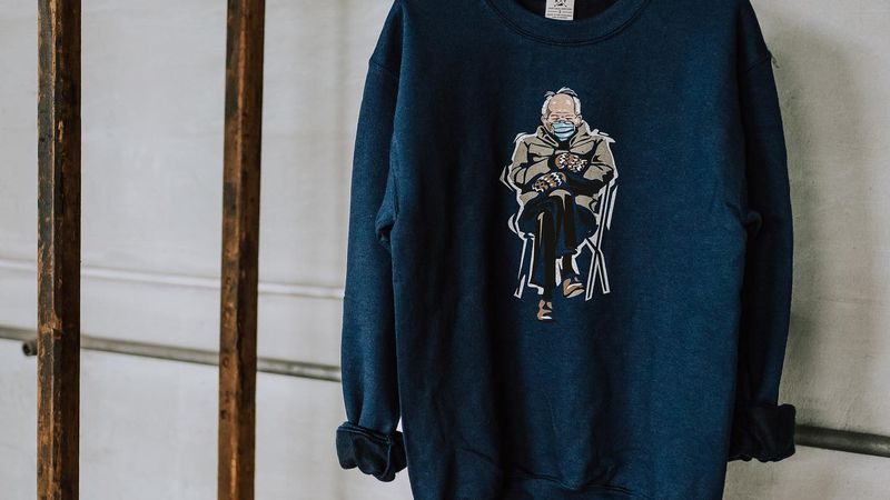 A Lexington store is selling Sen. Bernie Sanders mural sweatshirt to benefit a local youth...