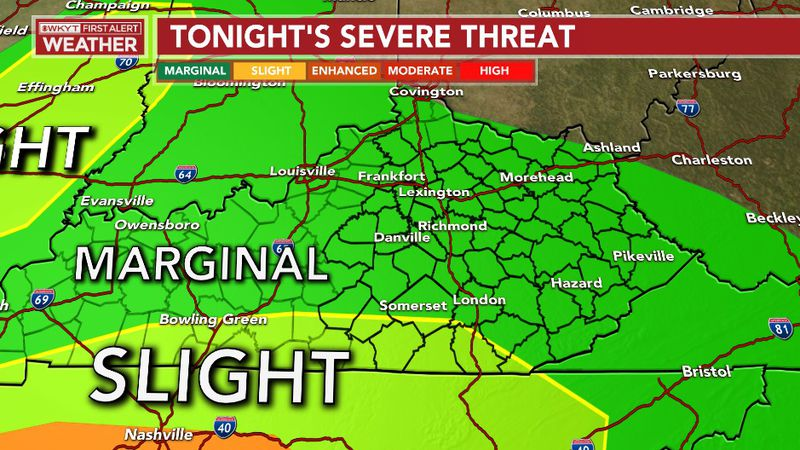 Strong to severe storms are possible through the overnight with strong/damaging winds being the...