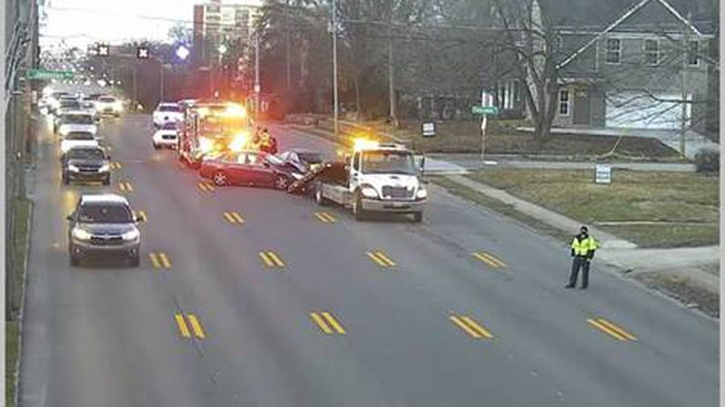 Crews are responding to multiple crashes across Lexington.