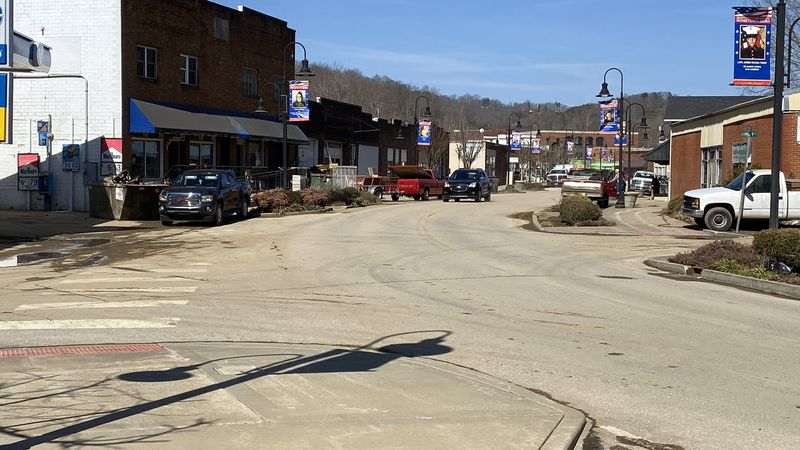 Many downtown businesses remain closed in Beattyville as they scramble to save and salvage what...