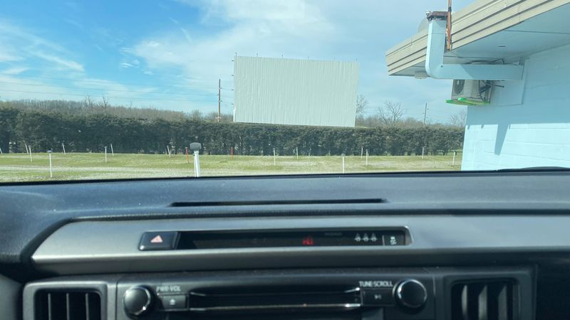 The Bourbon Drive-in in Paris has its opening weekend in a few days.