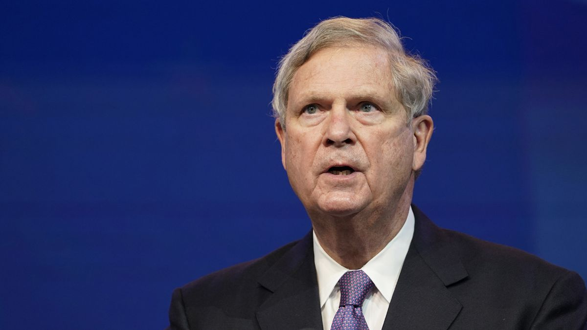 FILE - In this Dec. 11, 2020, file photo former Agriculture Secretary Tom Vilsack, who the...