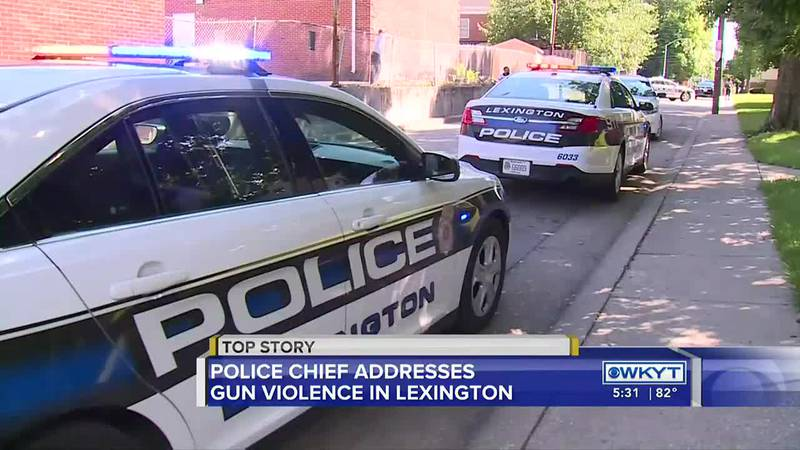 'A lot of the homicides we see are personal': Lexington police chief addresses city's gun...
