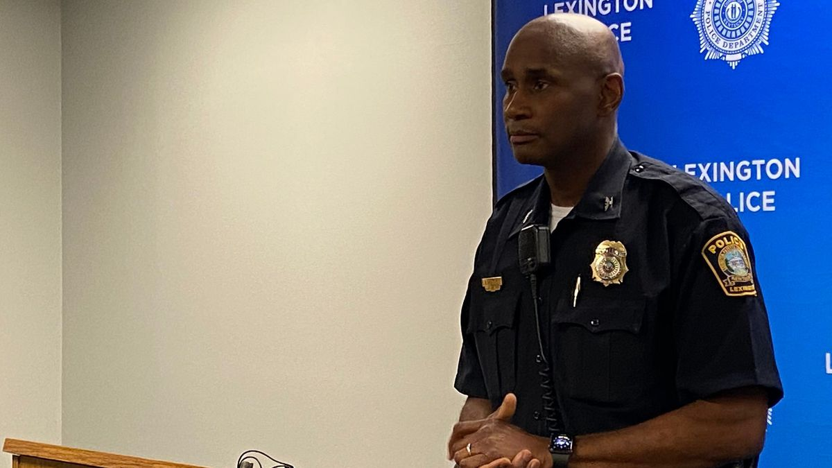 Lexington's police chief, Lawrence Weathers, says what happens out of state can affect Lexington. (WKYT)
