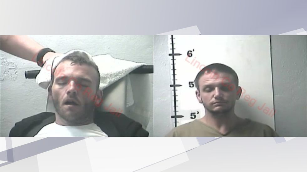 Nicholas Floyd (left) and Anthony Brown (right) were both arrested in connection with the shooting.