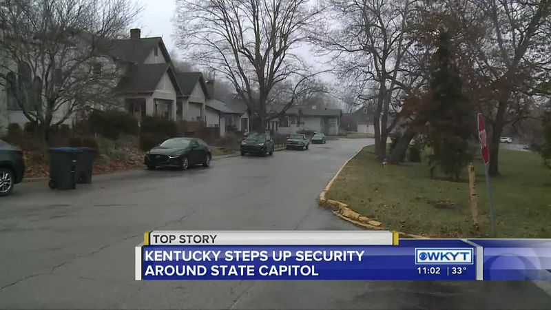 State capitols across the country, including Kentucky's, are preparing for demonstrations...