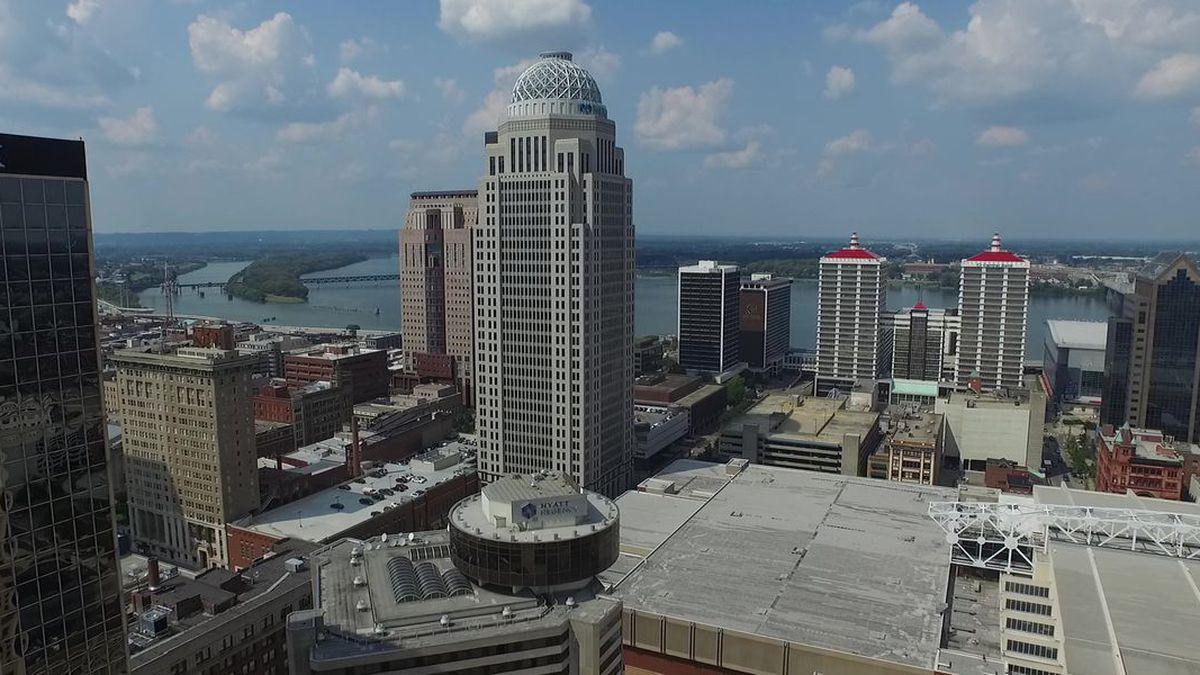 Downtown Louisville, Kentucky (Source: WAVE 3 News)